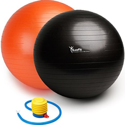 Flash Sale The Best Fitness Exercise Ball 65cm With Pump